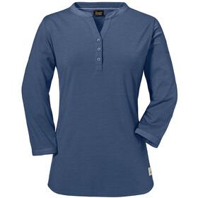 Schöffel Johannesburg Longsleeve Shirt Dames, blue indigo